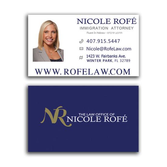 Nicole Rofé Business Card